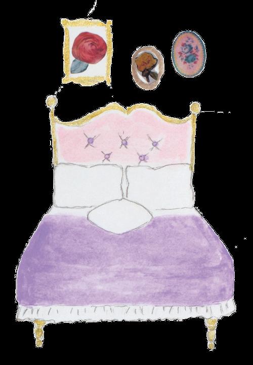 素材 ベッド