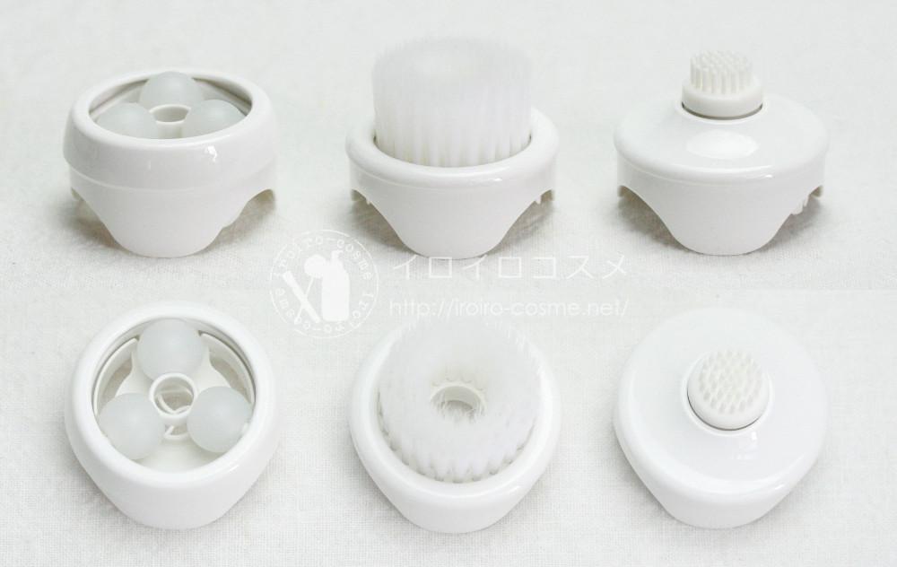 洗顔美容器 濃密泡エステ EH-SC65 パナソニック 口コミレビュー 3種類のアタッチメント