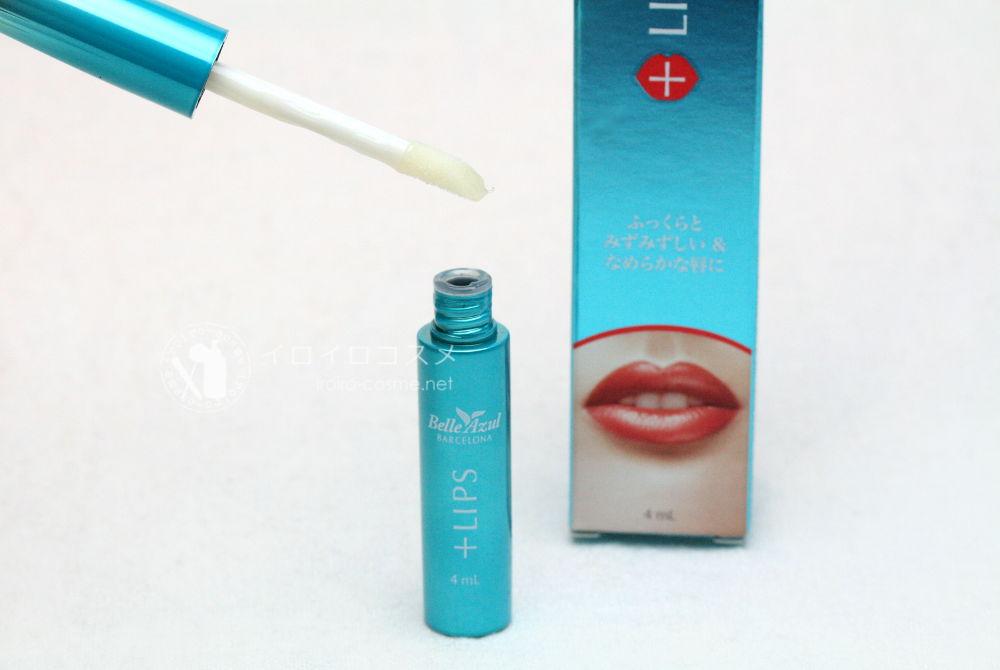 ベルアスール Belle Azul +リップス 唇 美容液 アルガンオイル 配合 口コミレビュー アプリケーションチップ