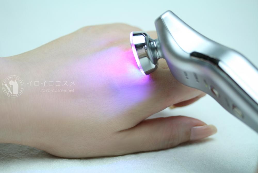 杉本彩 美顔器 ララルーチュRF (RF・EMS・コアパルス・LED) レビュー 実際に使用